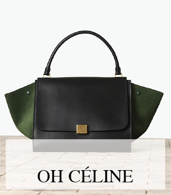 THE CÉLINE TRAPEZE BAG