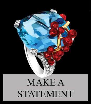 FINE LUXURY STATEMENT RINGS