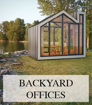 BACKYARD OFFICE PODS, CABINS AND SHEDS