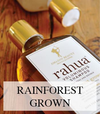 RAHUA 100% ORGANIC VEGAN AND NATURAL HAIR CARE NATUURLIJKE HAARVERZORGING
