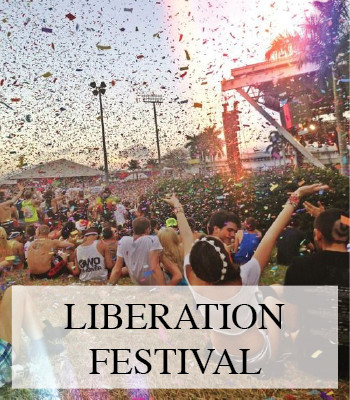 A MUSIC PLAYLIST INSPIRED BY LIBERATION FESTIVAL