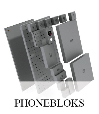 CREATE AND DESIGN YOUR OWN MODULAR PHONE WITH PHONEBLOKS