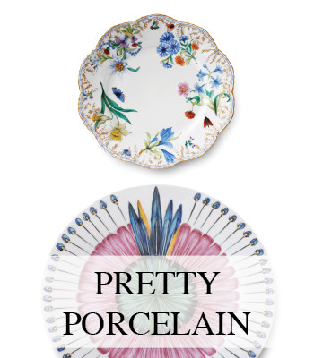 PORCELAIN DESIGN PLATES – TABLEWARE DINNERWARE