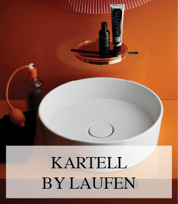 KARTELL BY LAUFEN BATHROOM DESIGN