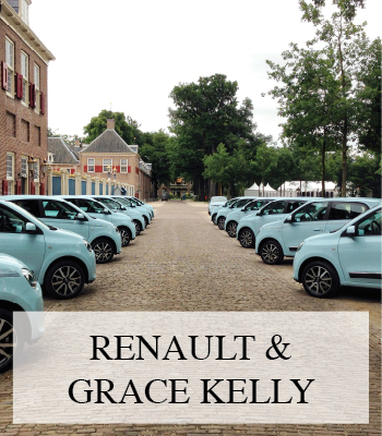 THE NEW RENAULT TWINGO AND STYLE ICON GRACE KELLY