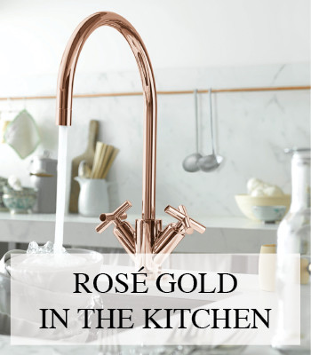 ROSE GOLD DESIGN FAUCETS AND ACCESSORIES FOR BATHROOM AND KITCHEN BY DORNBRACHT