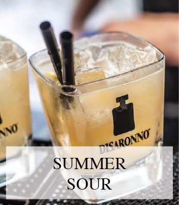 DISARONNO TERRACE AT REMISE47 AND THE DISARONNO SUMMER SOUR COCKTAIL