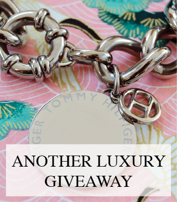 LUXURY JEWELRY GIVEAWAY – WIN A TOMMY HILFIGER BRACELET
