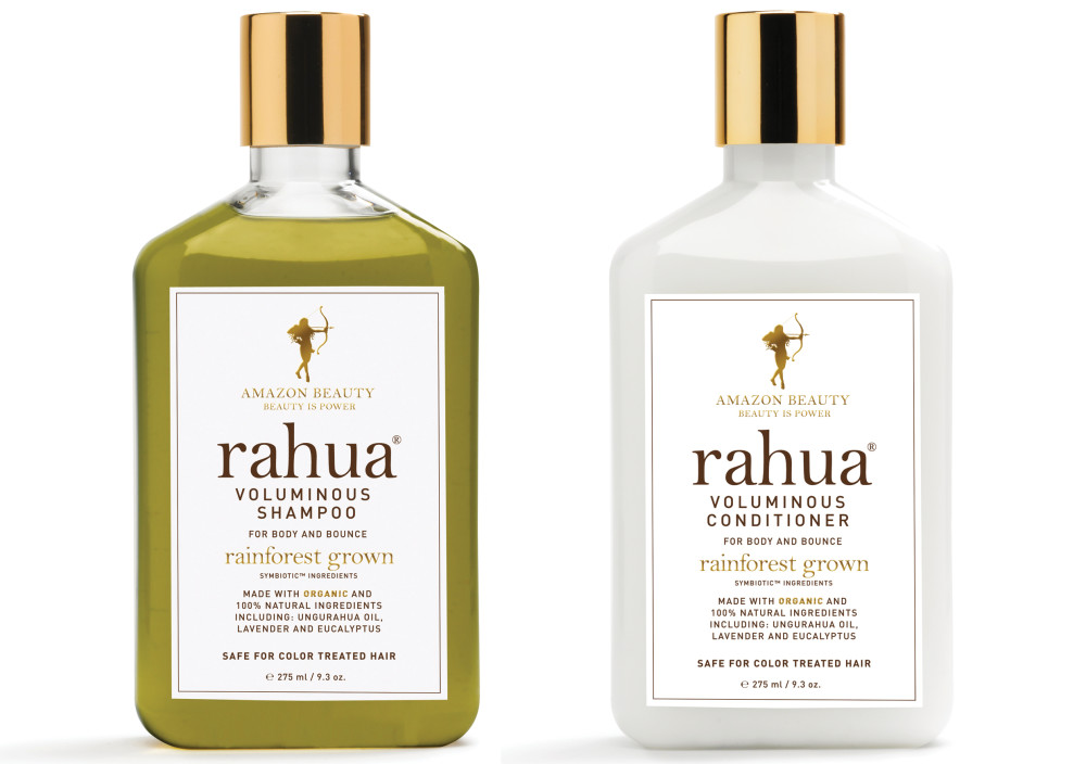 RAHUA organic Voluminous Shampoo and Conditioner - available at shop.whatiwouldbuy.com