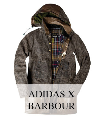 ADIDAS ORIGINALS X BARBOUR MENSWEAR COLLECTION