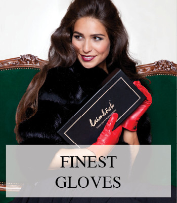 WIN LAIMBOCK LUXURY LEATHER GLOVES FOR MEN AND WOMEN