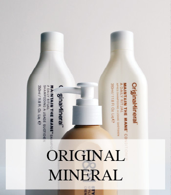 ORIGINAL MINERAL HAIR CARE FOR HEALTHY STRESS FREE HAIR