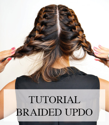 HAIR TUTORIAL BRAIDED UPDO – BY WHATIWOULDBUY.COM AND SALON B