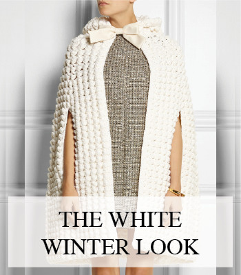WHITE WINTER FASHION LOOK