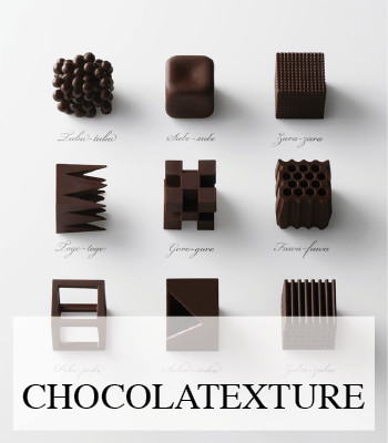 CHOCOLATE TEXTURE DESIGN BY NENDO