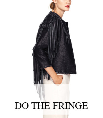 LEATHER FRINGE FASHION MUSTHAVES 2015