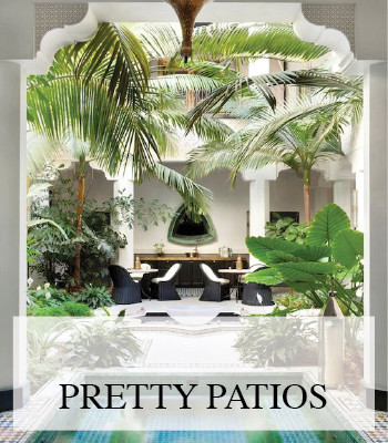 PRETTY DECKS, PATIOS AND GARDEN IDEAS