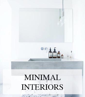 MINIMALIST INTERIORS – MINIMALISTISCH INTERIEUR