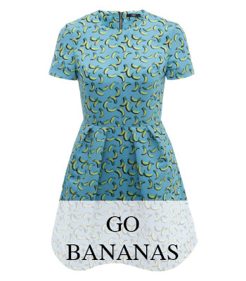 BANANA PRINT SUMMER FASHION AND FASHION ACCESSORIES