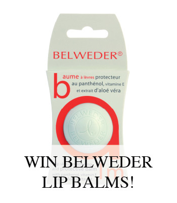BELWEDER LIP BALM GIVEAWAY