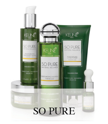 KEUNE SO PURE AROMATHERAPY HAIR CARE PRODUCTS