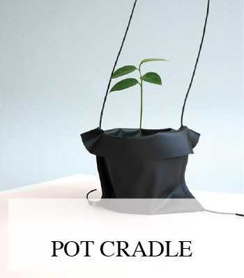 A DESIGN POT CRADLE FOR HANGING YOUR PLANTS