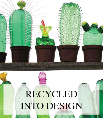 CACTUS PET BOTTLES – DESIGN FROM RECYCLED SUSTAINABLE MATERIAL