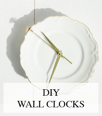 DIY PORCELAIN PLATE WALL CLOCKS – DIY WANDKLOKJES