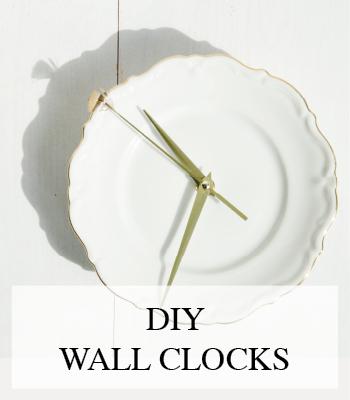 DIY PORCELAIN PLATE WALL CLOCKS – DIY WANDKLOKJES