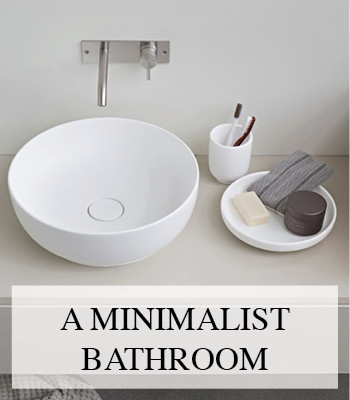 ESPERANTO MINIMALIST BATHROOM DESIGN BY MONICA GRAFFEO FOR REXA DESIGN – MINIMALISTISCHE BADKAMER