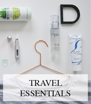BEAUTY AND FASHION TRAVEL ESSENTIALS AND TRAVEL MUST HAVES