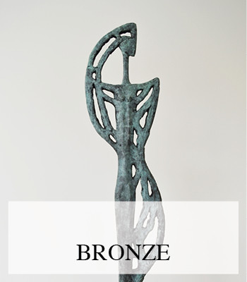 ART PHOTOGRAPHY FOR RAGONDA IJTSMA BRONZE SCULPTURES BY DANIQUE BAUER PRODUCT FOTOGRAFIE