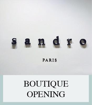SANDRO PARIS BOUTIQUE OPENING AMSTERDAM