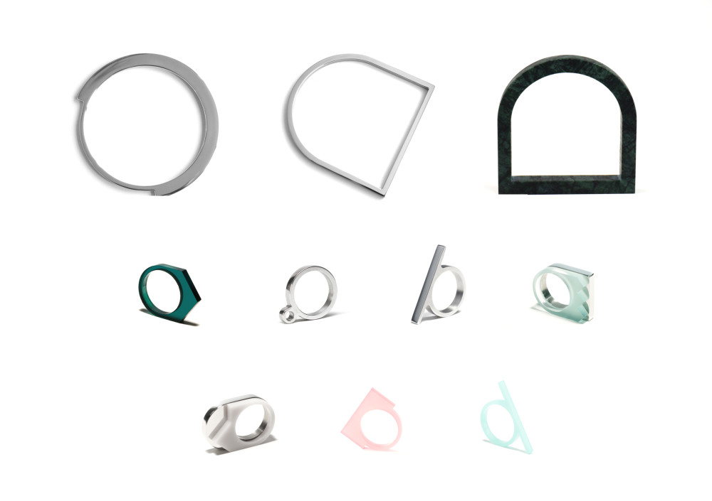 OFORM - minimalist jewelry - bracelets, rings and necklaces