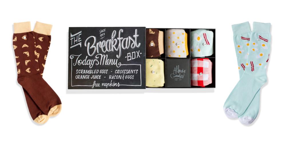 Alfredo Gonzales 'The Breakfast Box' socks