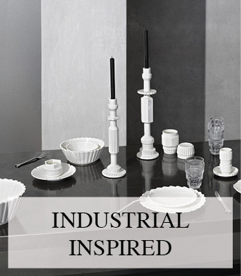 DIESEL LIVING MACHINE COLLECTION – INDUSTRIAL INSPIRED INTERIOR