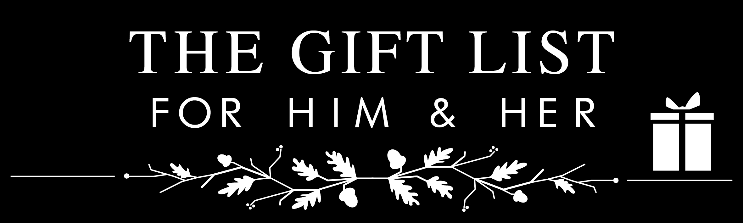 The gift list for christmas 2015 a gift guide with for List of gifts for her