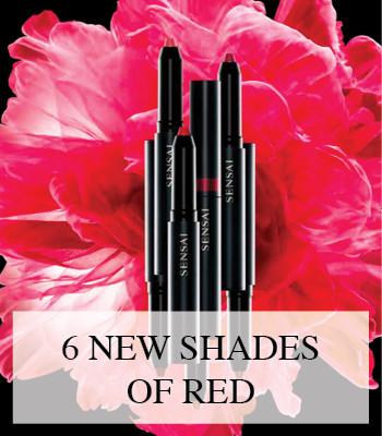THE PERFECT RED LIPSTICK – SENSAI SILKY DESIGN ROUGE LIPSTICK FOR SPRING 2016
