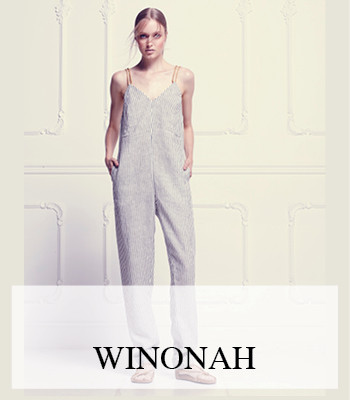 WINONAH MILANO STRIPES prêt-à-porter debut collection SPRING SUMMER 2016