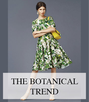 BOTANICAL FASHION SPRING SUMMER 2014