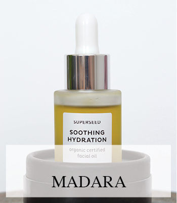 MADARA ULTRA PURIFYING DETOX MUD MASK AND SOOTHING HYDRATION ORGANIC SUPER SEED FACIAL OIL