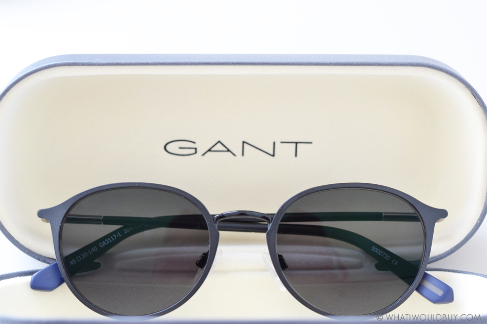 round shaped GANT sunglasses from Specsavers