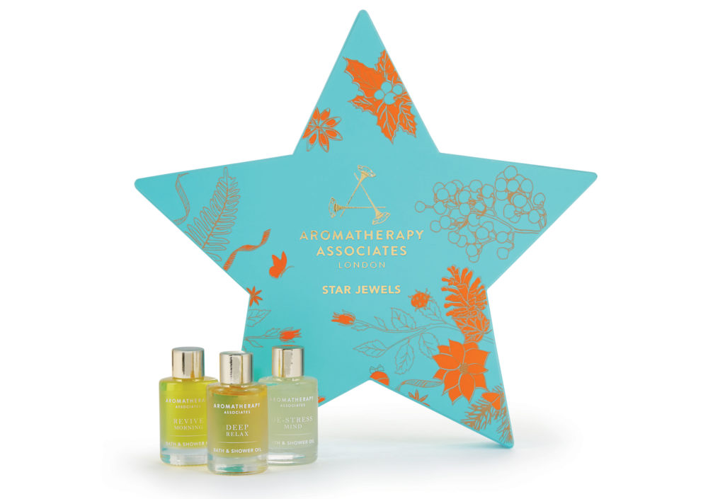 Aromatherapy Associates - Star Jewels Gift Set with 3 exclusive Bath & Shower Oils