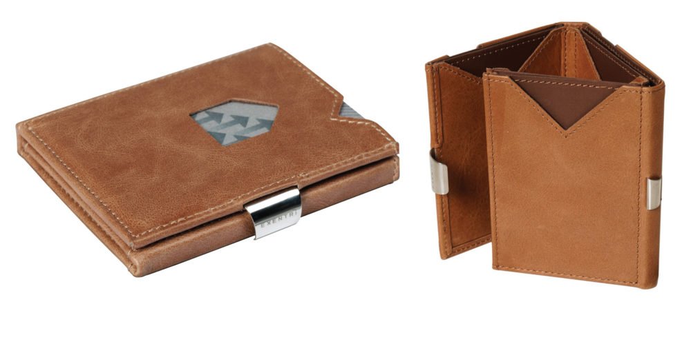 Exentri Wallet in Sand coloured Leather - SKOEQ.nl