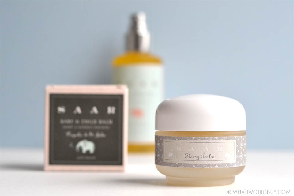 Natural Sleepy Balm from SAAR Soleares - Photography by Danique Bauer / © WhatIWouldBuy