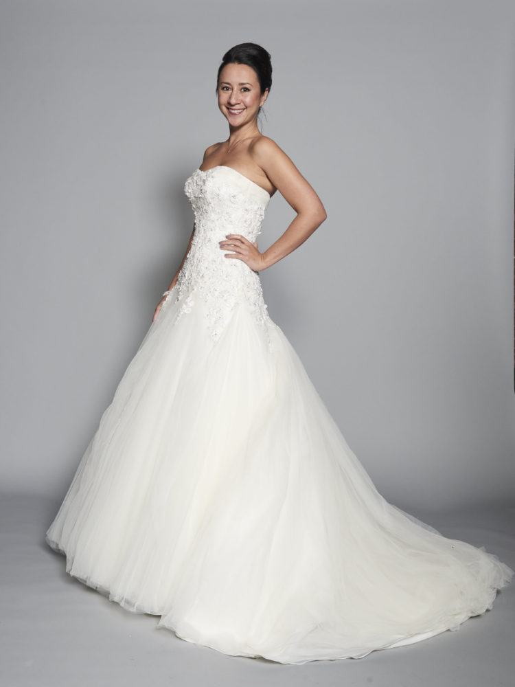 Me and my wedding dress - whatiwouldbuy.com