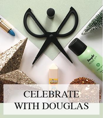 DOUGLAS CHRISTMAS GIFTS CELEBRATE WITH DOUGLAS – BEAUTY CADEAUS VOOR DE FEESTDAGEN