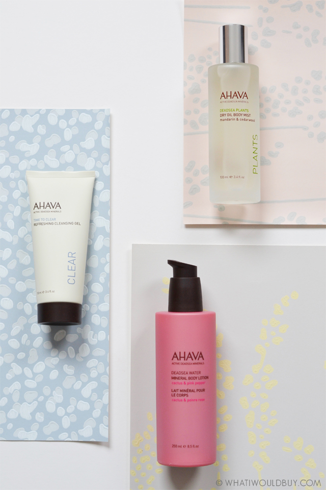 AHAVA Dead Sea Mineral Skin Care