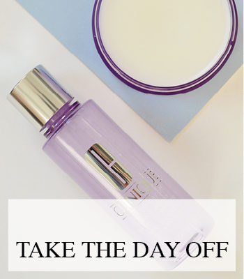 CLINIQUE TAKE THE DAY OFF CLEANSING BALM AND MAKE UP REMOVER FOR LIDS LASHES AND LIPS