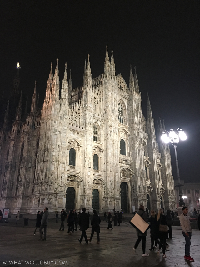 Duomo - MIDO Milan Press Trip - Photography by Danique Bauer / © WhatIWouldBuy